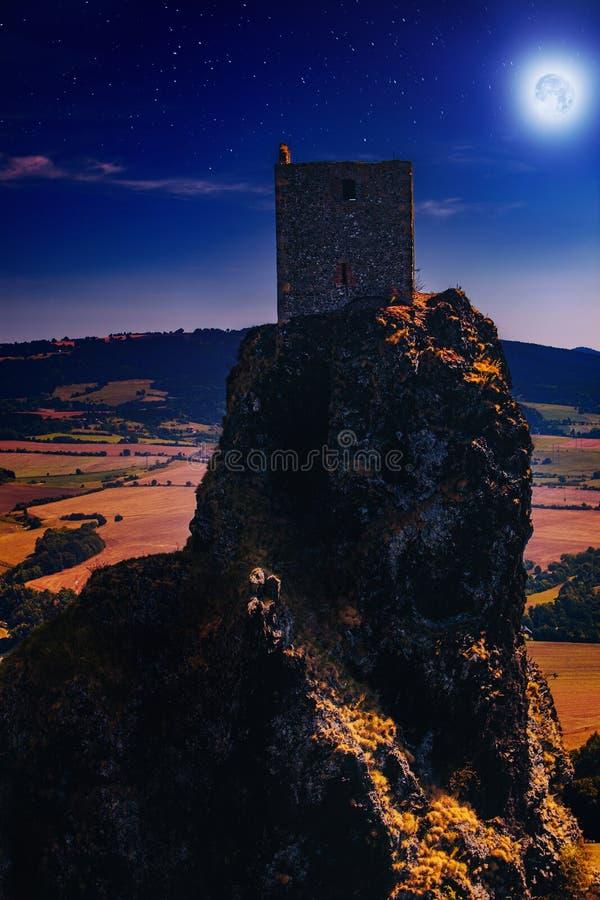 Het kasteel van de fee stock foto's