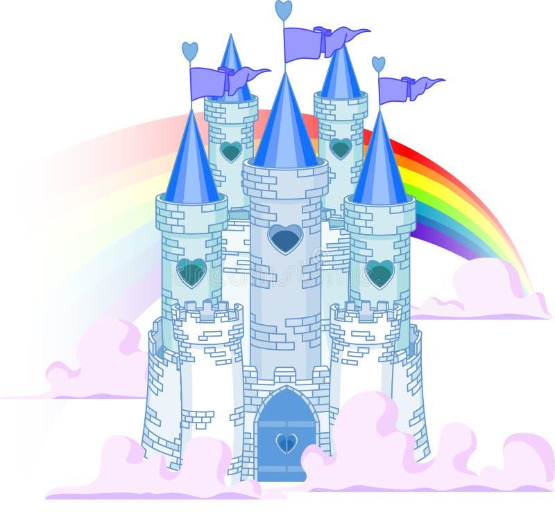 Het Kasteel van de regenboog vector illustratie