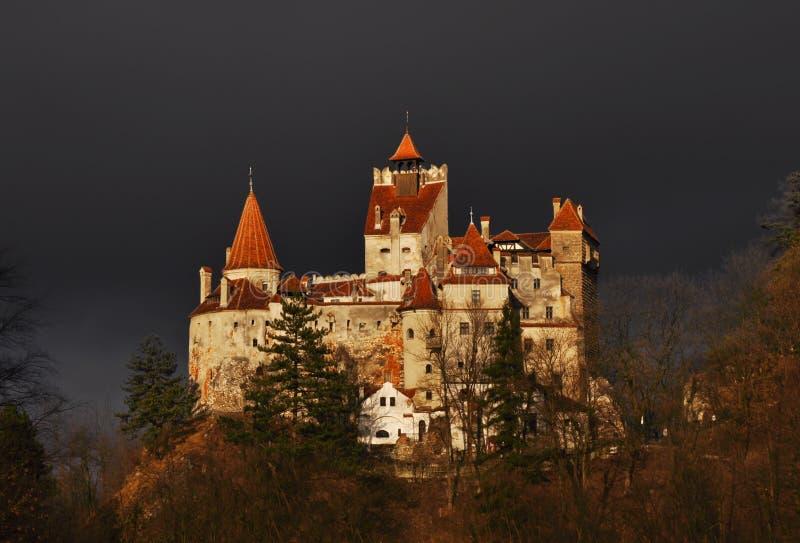 Het Kasteel van Dracula van de telling stock afbeelding