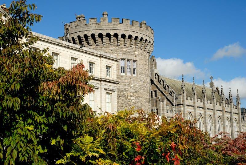 Het Kasteel van Dublin stock foto