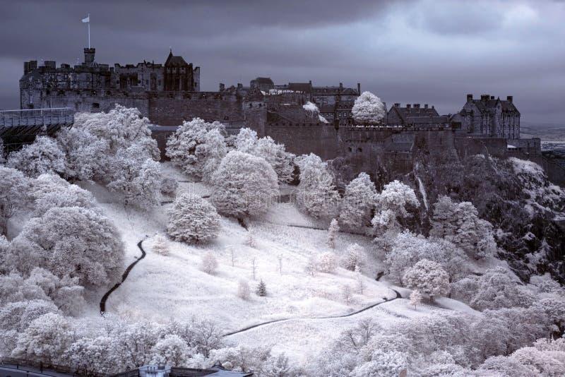 Het Kasteel van Edinburgh, Schotland, GB royalty-vrije stock afbeelding