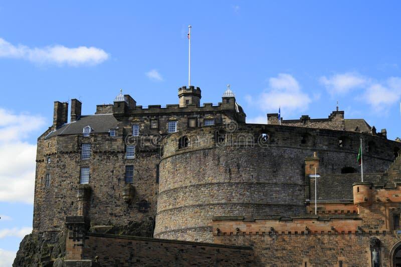 Het Kasteel van Edinburgh, Schotland, het Verenigd Koninkrijk stock foto