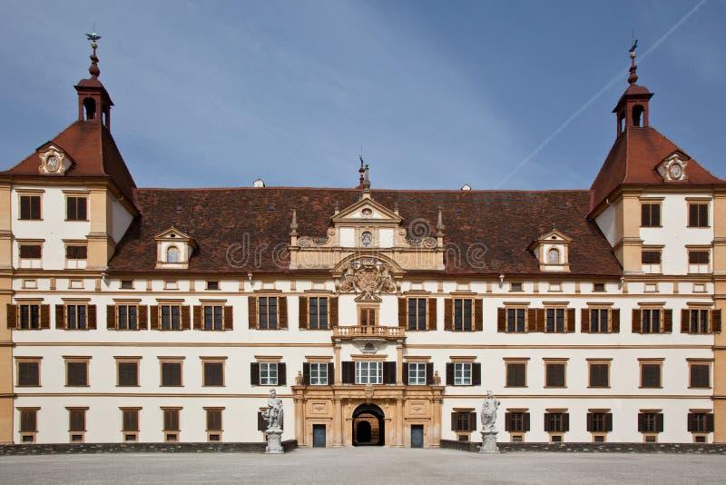 Het kasteel van Eggenberg in Graz, Oostenrijk royalty-vrije stock fotografie