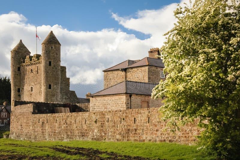 Het Kasteel van Enniskillen provincie Fermanagh Noord-Ierland stock afbeelding