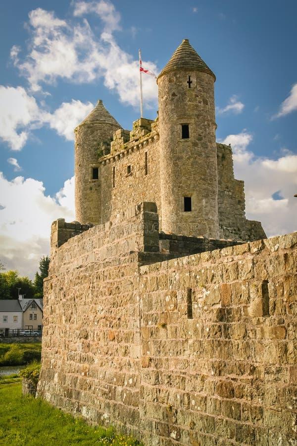 Het Kasteel van Enniskillen provincie Fermanagh Noord-Ierland stock foto