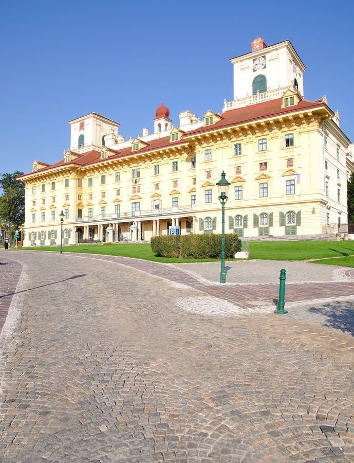 Het Kasteel van Esterhazy, Eisenstadt stock afbeelding