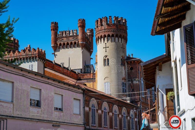 Het kasteel van Favria royalty-vrije stock fotografie