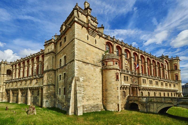 Het kasteel van Frankrijk royalty-vrije stock foto's