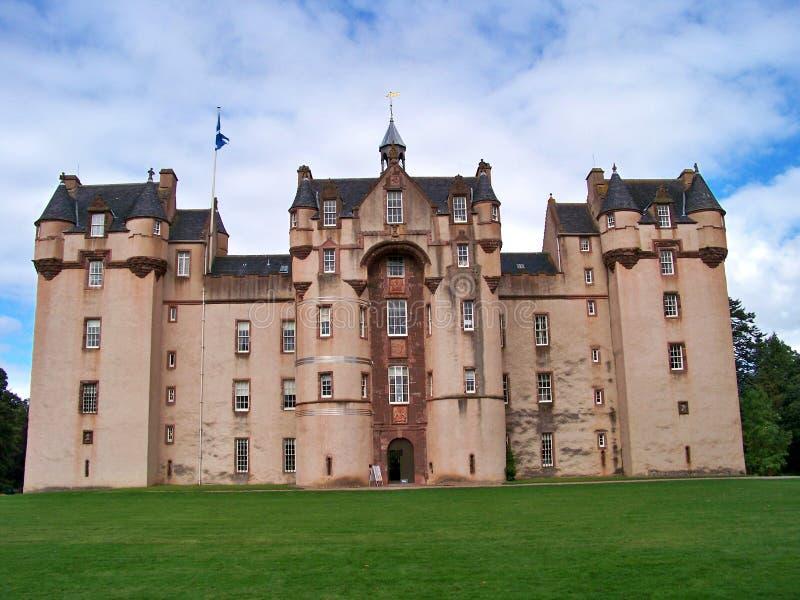 Het kasteel van Fyvie stock foto