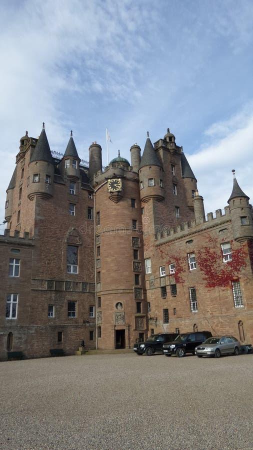 Het Kasteel van Glamis royalty-vrije stock afbeelding