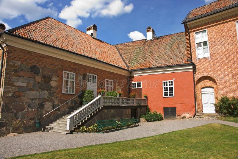 Het kasteel van Gripsholm stock afbeeldingen