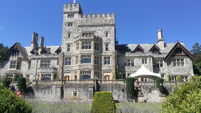 Het kasteel van Hatley stock fotografie