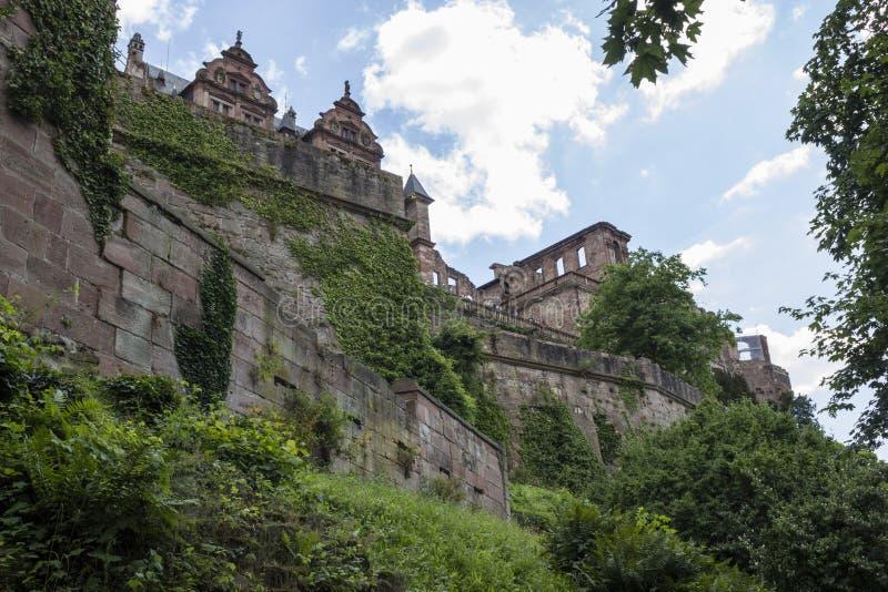 Het kasteel van Heidelberg stock foto's