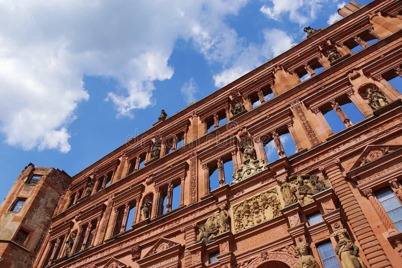 Het kasteel van Heidelberg royalty-vrije stock fotografie