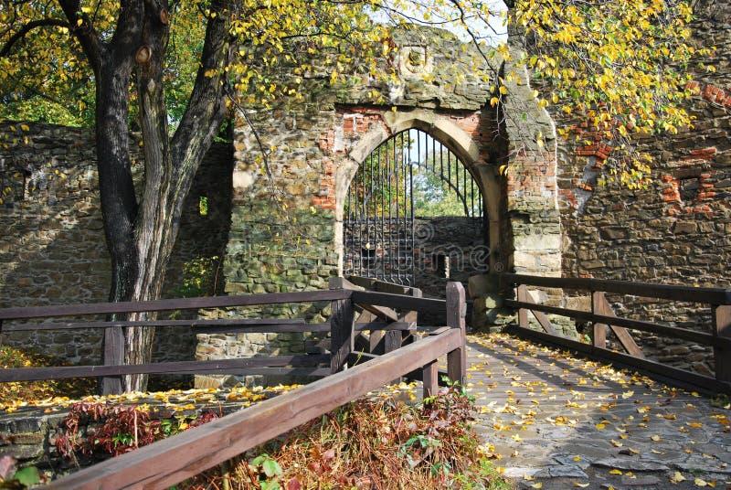Het kasteel van Helfstyn royalty-vrije stock fotografie