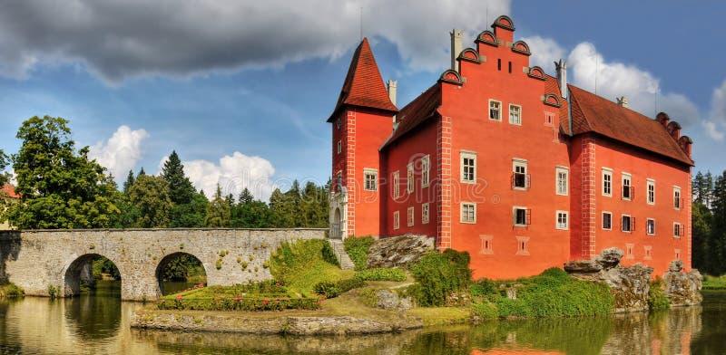 Het Kasteel van het Fairytalewater royalty-vrije stock foto's