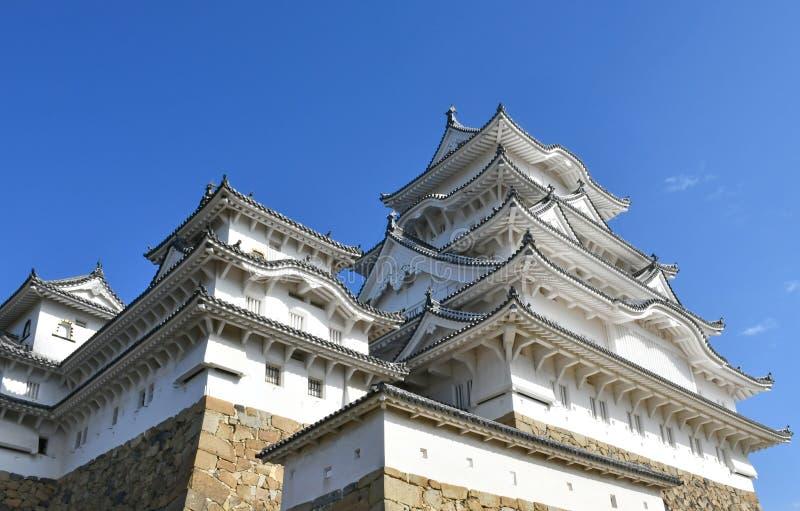Het Kasteel van Himeji, het Grootste en Beroemdste Kasteel van Japan royalty-vrije stock afbeeldingen