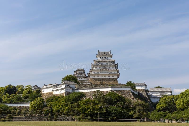 Het Kasteel van Himeji, historische kastelen, Himeji, Hyogo, Japan stock fotografie