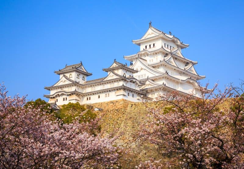 Het Kasteel van Himeji, Hyogo, Japan stock fotografie