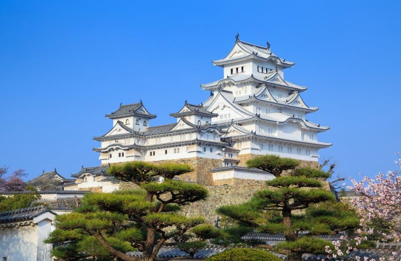 Het Kasteel van Himeji, Hyogo, Japan royalty-vrije stock foto