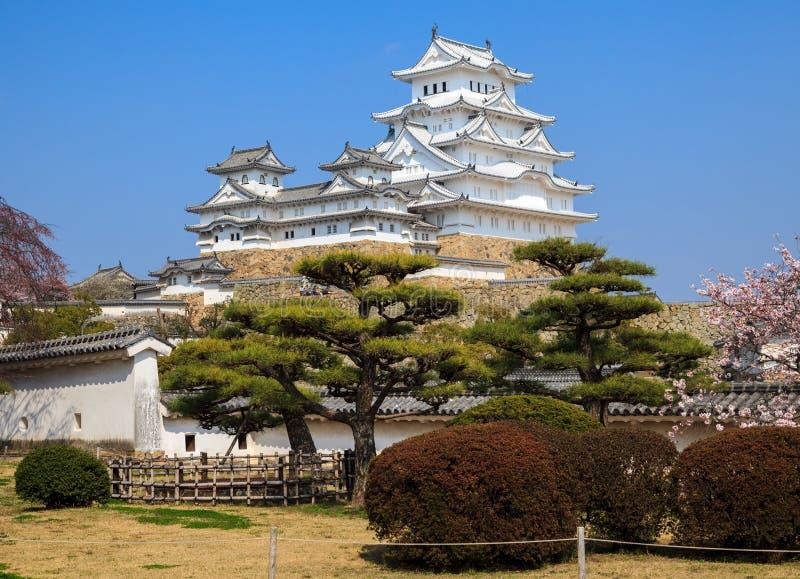 Het Kasteel van Himeji, Hyogo, Japan royalty-vrije stock fotografie
