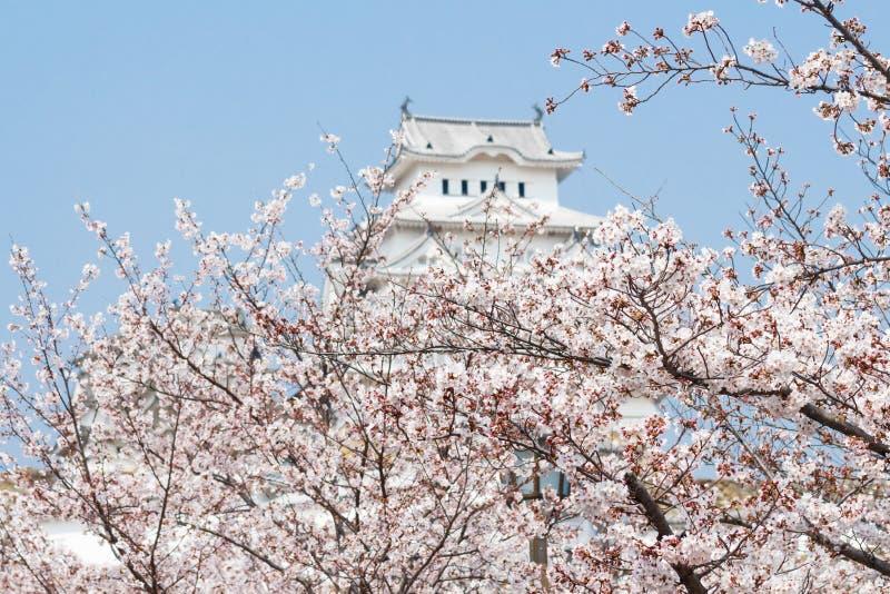 Het Kasteel van Himeji in Japan stock fotografie