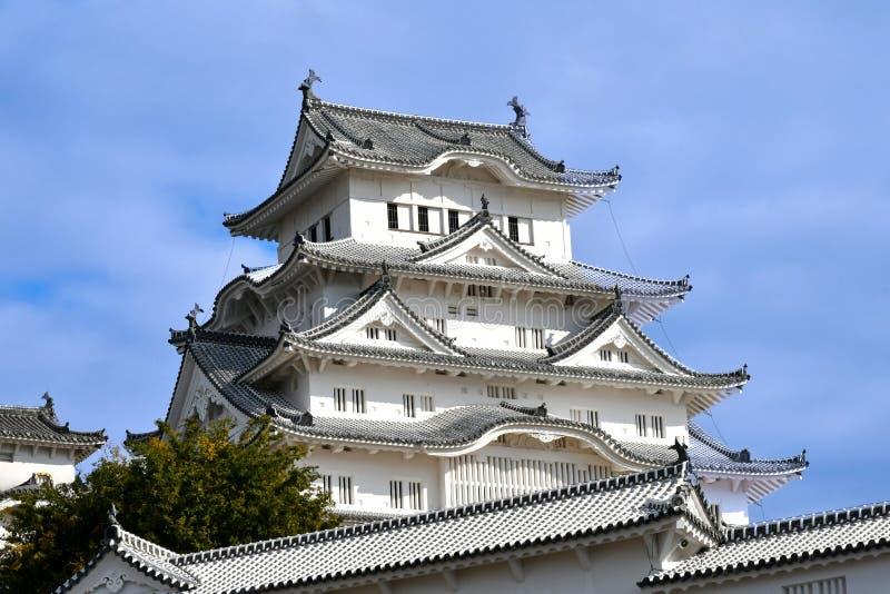 Het Kasteel van Himeji in November 2018 royalty-vrije stock foto
