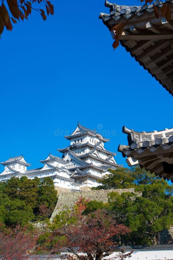 Het Kasteel van Himeji in Osaka royalty-vrije stock fotografie