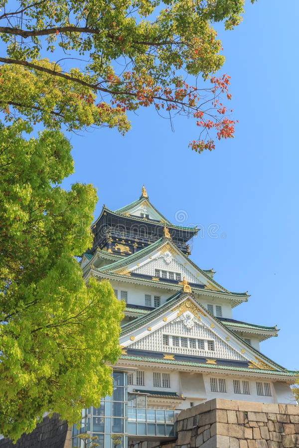 Download Het Kasteel Van Himeji, Osaka Japan Stock Foto - Afbeelding bestaande uit gebouwen, cultuur: 54080238