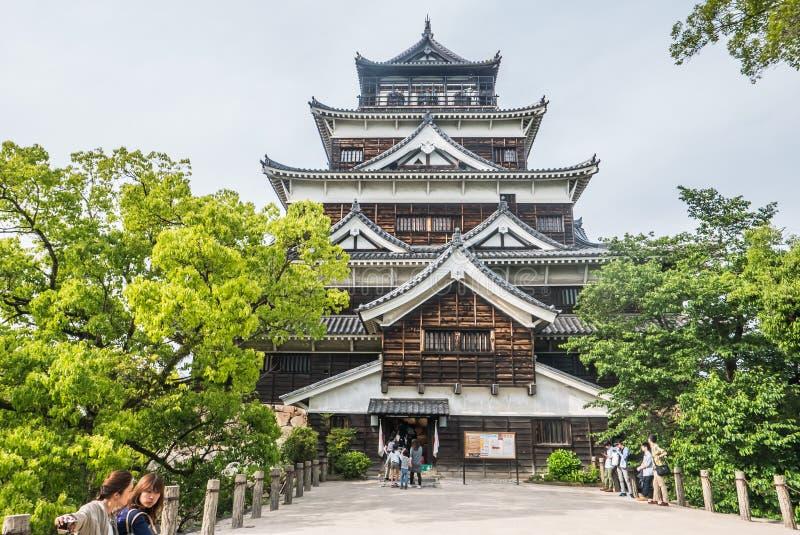 Het Kasteel van Hiroshima royalty-vrije stock foto