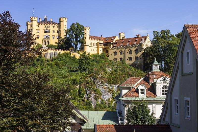 Het Kasteel van Hohenschwangau, Duitsland royalty-vrije stock foto