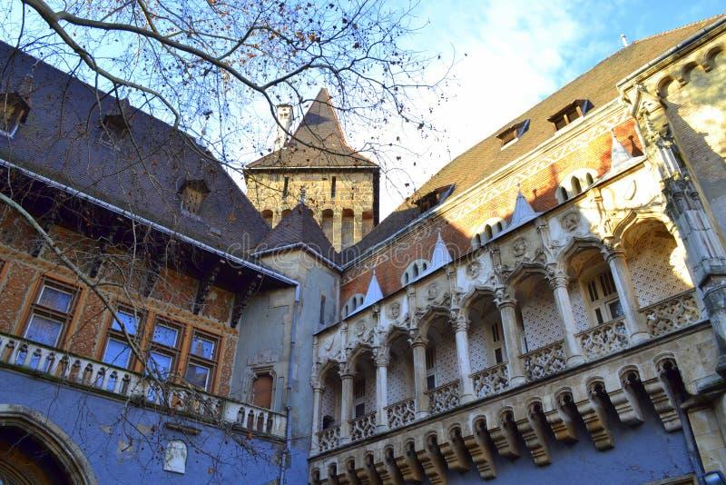 Het kasteel van Hongarije stock foto