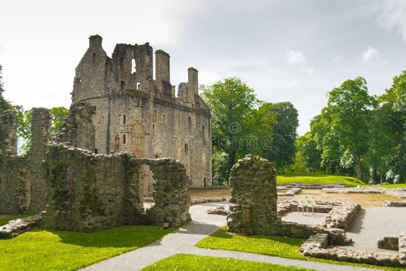 Het Kasteel van Huntly, Schotland royalty-vrije stock afbeelding