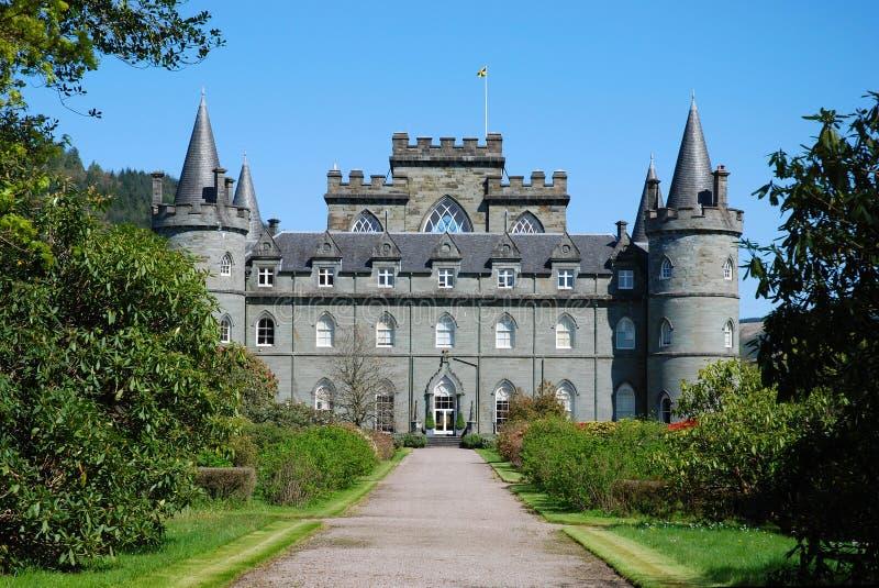 Het kasteel van Inveraray stock foto's