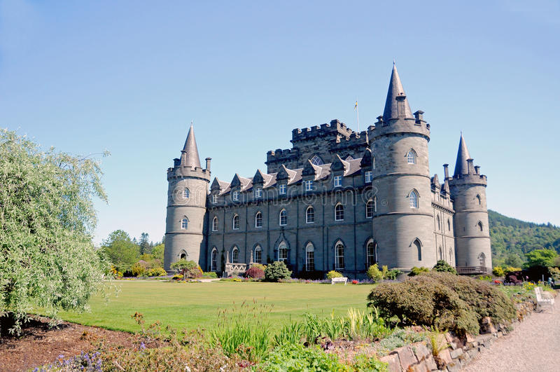 Het kasteel van Inveraray royalty-vrije stock foto