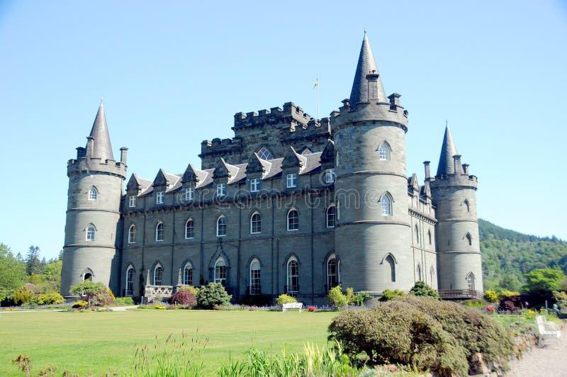 Het kasteel van Inveraray royalty-vrije stock afbeeldingen