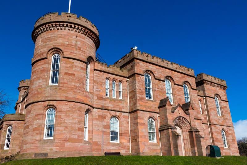 Het Kasteel van Inverness royalty-vrije stock afbeelding