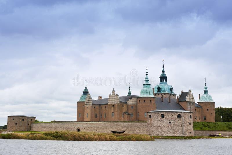 Het Kasteel van Kalmar, Zweden stock foto