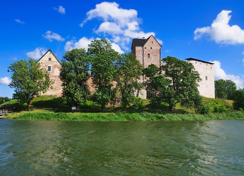 Het Kasteel van Kastelholm, Aland, Finland royalty-vrije stock afbeeldingen