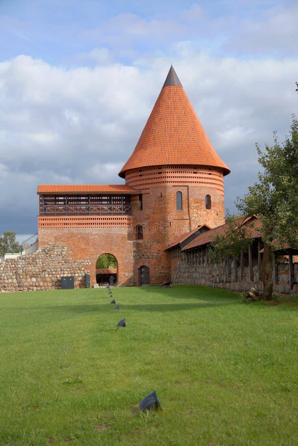 Het Kasteel van Kaunas stock foto