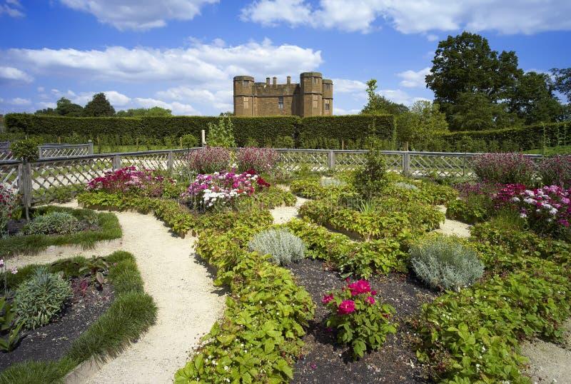 Het kasteel van Kenilworth stock afbeelding