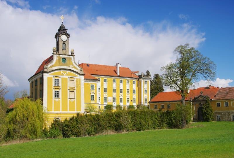 Het kasteel van Kirchberg am Walde royalty-vrije stock foto's