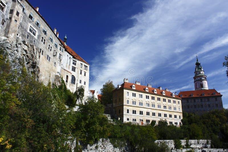 Het kasteel van Krumlov van Cesky royalty-vrije stock foto