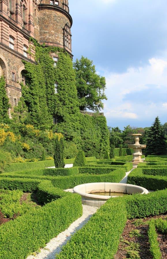 Het kasteel van Ksiaz royalty-vrije stock fotografie