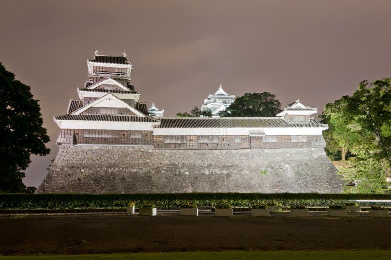 Het kasteel van Kumamoto royalty-vrije stock afbeeldingen