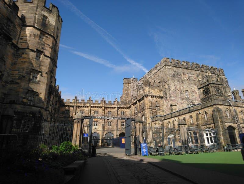 Het kasteel van Lancaster stock afbeeldingen