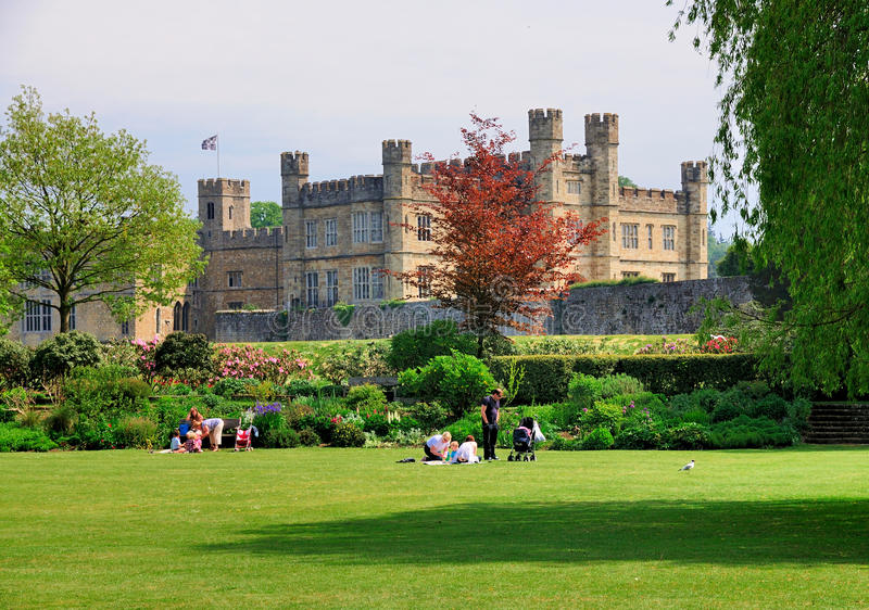 Het Kasteel van Leeds, Engeland royalty-vrije stock foto's