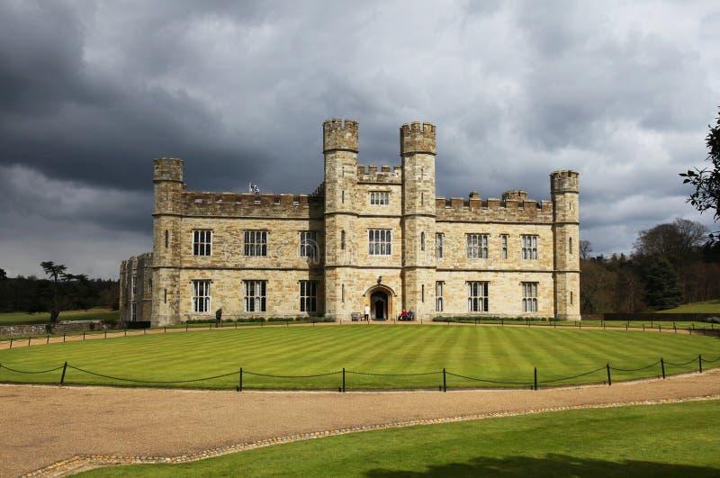 Het Kasteel van Leeds in Engeland royalty-vrije stock afbeelding