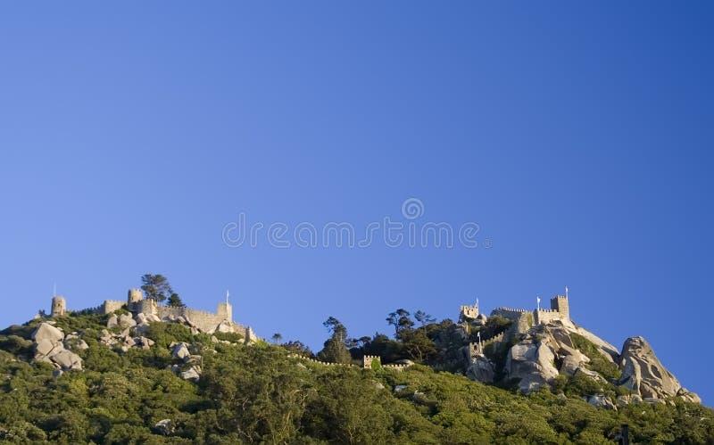 Het kasteel van legt vast royalty-vrije stock afbeeldingen