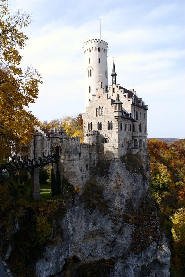 Het Kasteel van Lichtenstein royalty-vrije stock afbeeldingen